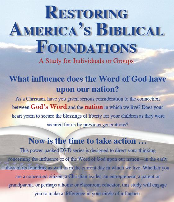 Restoring America's Biblical Foundations info